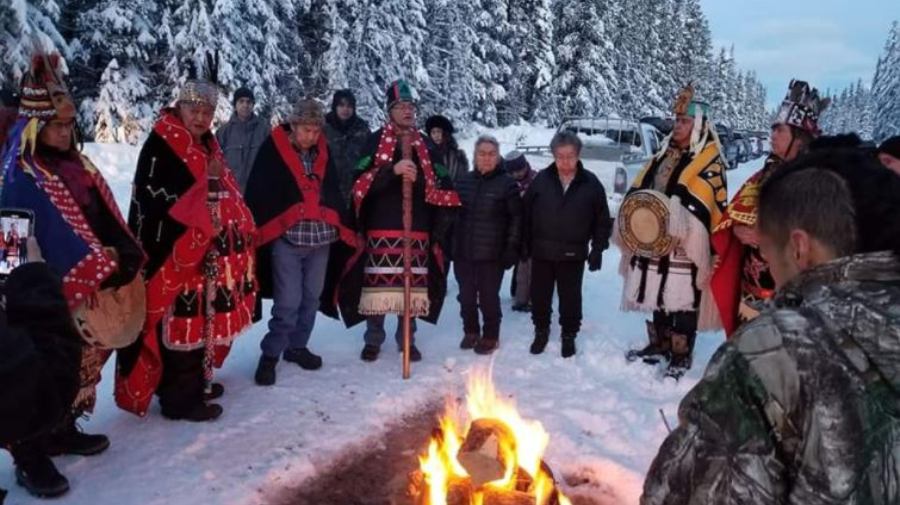 Wet'suwet'en Hereditary Chiefs Evict Coastal GasLink from Territory