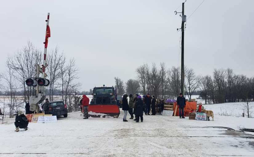 Tyendinaga Mohawks continue to block trains near Belleville, Ont